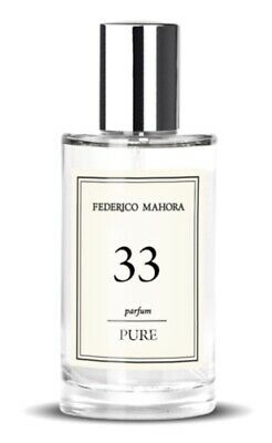 FM 33 Pure Collection Perfume For Her By Federico Mahora 50ml • 14.99£