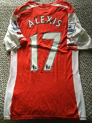 Arsenal Alexis Sanchez Player Issue Shirt New With Tags • 70£
