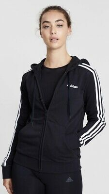 AU59.95 • Buy Adidas Women's Essentials 3-Stripes Full-Zip Hoodie~Size M Brand New With Tag