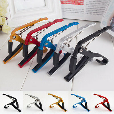 $ CDN4.29 • Buy Guitar Capo Key Clamp Trigger Quick Change Acoustic/Electric Guitar Accessories