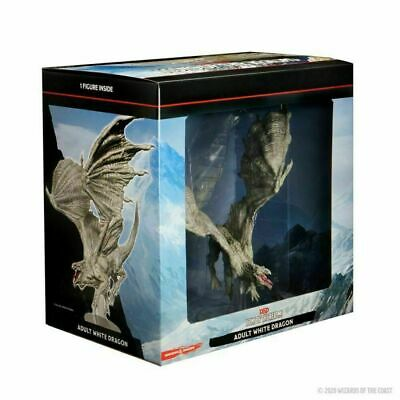 AU124.99 • Buy Icons Of The Realms Premium Figure: Adult White Dragon
