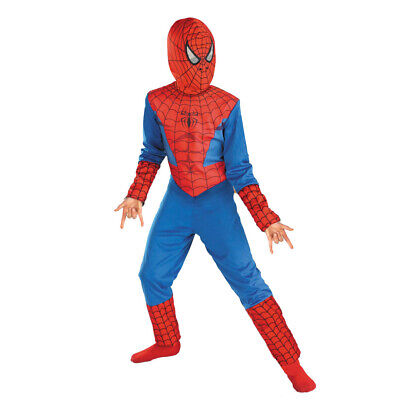 UK Seller Boys Super Spider Hero Fancy Dress Outfit Party Costume Halloween • 5.99£