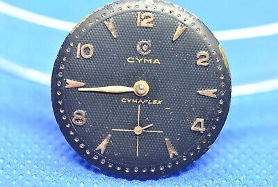 Original CYMA CYMAFLEX Caliber R.458 Movement Running & Dial (1/5168) • 40.03£