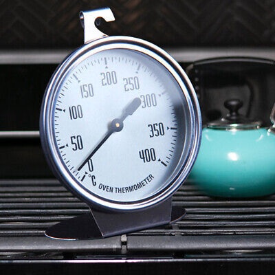 Stainless Steel Large Dial Oven Kitchen Thermometer Food Cooking Termometer • 7.23£