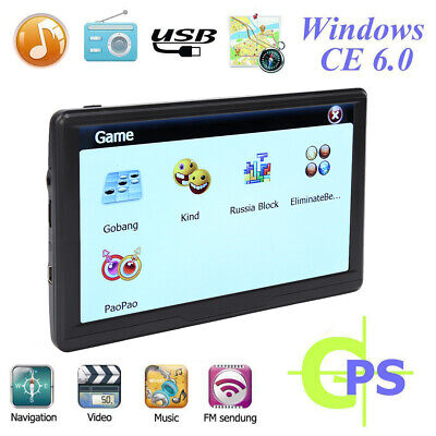 AU94.91 • Buy 7  GPS Navigation Truck Car Sat Nav HD LCD Display Vehicle GPS Navigator System
