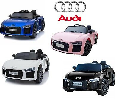 12v Audi R8 Spyder Kids Electric Battery Ride On Car Parental Remote Control • 159.50£