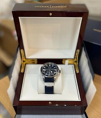 NEW Ulysse Nardin Blue Divers No 62 Watch - Automatic Diver Mens Watch 300 Metre • 5,999.99£