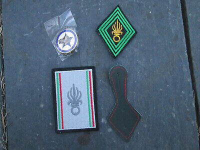 French Foreign Legion Set NCOs- 4º RE-CIC-company-patch,badge,support • 10.37£