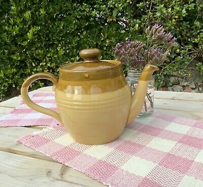 Vintage Stoneware T G Green Granville Teapot Cornish Ware England Large Glazed  • 29.99£
