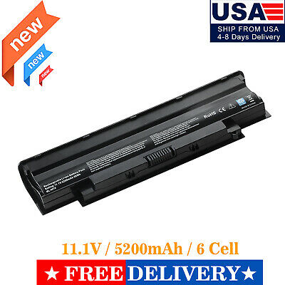 $12.74 • Buy 6Cell Battery For N4010 Dell Inspiron 13R 14R 17R N4050 N5010 N7010 04YRJH J1KND