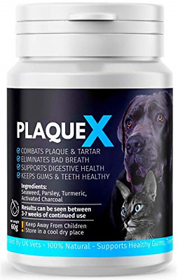 Plaque X Plaque Off & Tartar Remover For Dogs & Cats | Turmeric Formulation | | • 10.67£