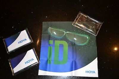 Hoya Microfibre Cleaning Cloths X 3 - Lens, Screen, Camera, Glasses • 10£