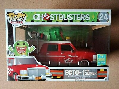 AU55 • Buy Ghostbusters - Ecto-1 With Slimer #24 Funko Pop! Vinyl Rides - 2016 Exclusive
