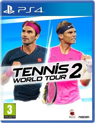 AU53.39 • Buy Tennis World Tour 2 | PlayStation 4 PS4 NEW