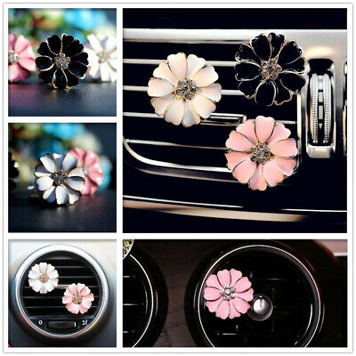 AU7.95 • Buy Car Vent Clip Air Freshener Perfume Diffuser Plant Cute Flowers Decoration New