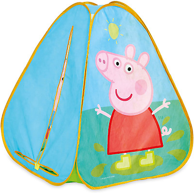 Peppa Pig KidActive Pop Up Playhouse Play Tent Indoor Or Outdoor Portable Play • 32.02£