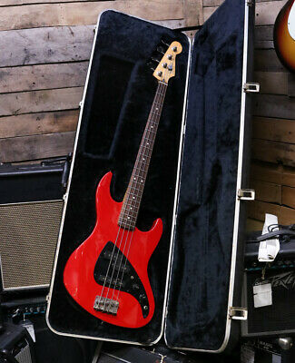 Fender USA Vintage JP-90 P&J Bass - Red - With OHSC Case • 650.40£