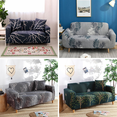 AU31 • Buy Sofa Covers 1 / 2 / 3 / 4 Seater Couch Slipcover Protector - Bonus Cushion Cover