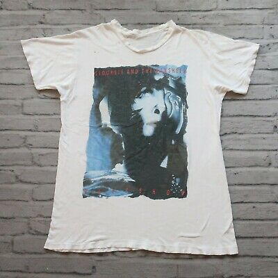 Vintage 80s Siouxsie And The Banshees Peep Show Tshirt Paper Thin Band Tour 1988 • 286.10£