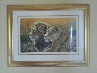 Stephen Gayford Print King & Queen Ltd Ed Of 995 Excellent Condition • 20£