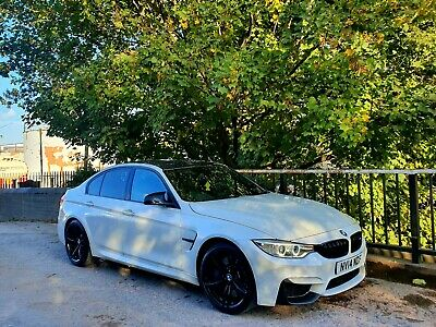 **2014 Bmw.m3 3.0 Twin Turbo Dct Mineral White 50k Miles P/x Welcome Cat N** • 23,995£