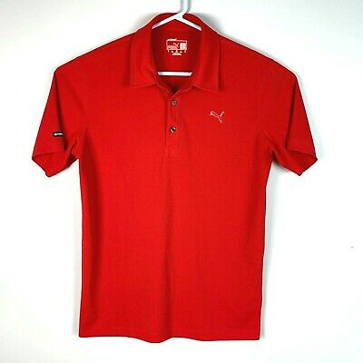 AU26.99 • Buy Puma DryCell Premium Red Golf Polo Shirt Size Men's Small