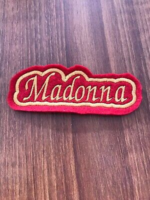 Personalised Embroidered Name Patch • 2.30£