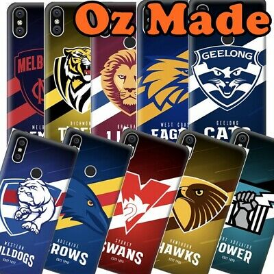 AU11 • Buy Australian Footy Clubs Case For VIVO Y3/Y17/Y15/Y12, Football Painted Back Cover