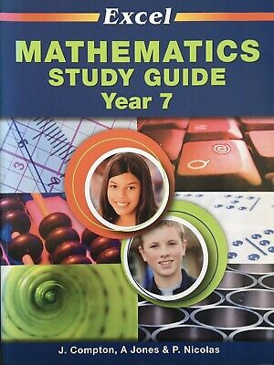 AU10 • Buy Excel Mathematics Study Guide Year 7 LIKE NEW