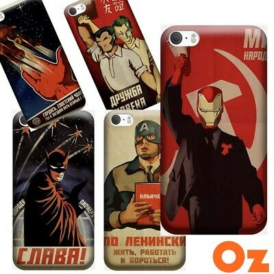 AU11 • Buy Soviet Style Comic Heroes For ASUS Zenfone Max Shot ZB634KL, Painted Back Cover