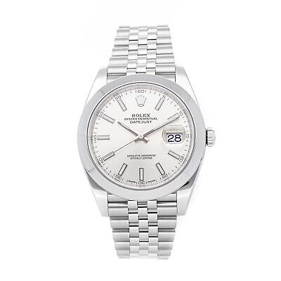 $ CDN11962.57 • Buy Rolex Datejust 41 Auto Steel Mens Jubilee Bracelet Watch 126300