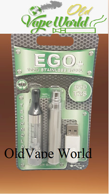 £5.49 • Buy E-Cigarette EGO Clearmizer T3S Stainless Steel Usb Charger Tank 2ml 650mah TPD