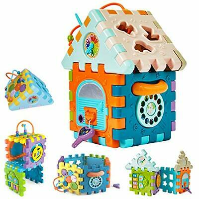 Baby Musical Activity Cube Toy, Toddler Toys For 1-Year-Old Boys Girls,9 In 1 • 37.99£