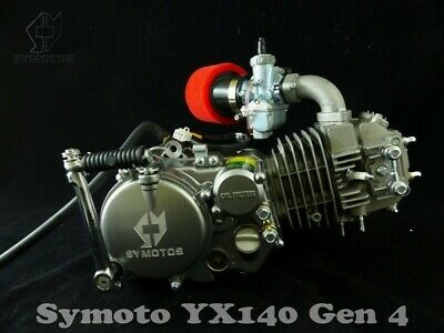 Gen 4 Symoto YX140 Engine, Z40 Cam Molkt Carb Loom YX160 Cooler Outer Rotor Kit • 438£