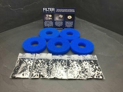 £9.99 • Buy FILTER FOAMS 5 PACK MARINE COMPATIBLE WITH BiORB FILTER SERVICE KIT REFILL ORB