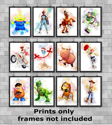Disney Toy Story Children's Bedroom Wall Art Poster Print Picture Gift A5 A4 A3 • 9.49£