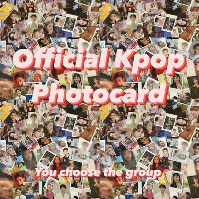 Cheap Kpop Official Photocard - Bts Nct Mamamoo Red Velvet ONF Loona Got7 Izone • 6£