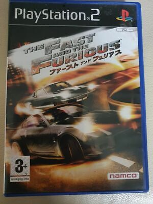 The Fast And The Furious - Sony Playstation 2 - Free Uk Postage • 4.69£
