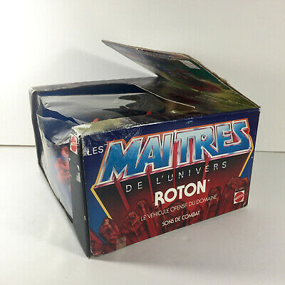 $149.99 • Buy Masters Of The Universe Original 1983 Vtg ROTON W/ Sealed Damaged Box MOTU