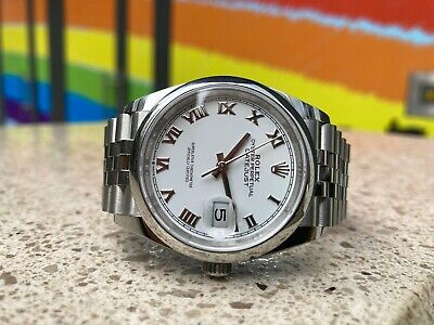 $ CDN11621.58 • Buy Rolex Datejust 126200 36mm Box And Papers 2020 Unworn