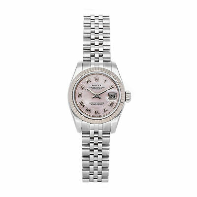 $ CDN7017.15 • Buy Rolex Datejust Pink Ladies Roman 26mm Auto Stainless Steel Bracelet Watch 179174