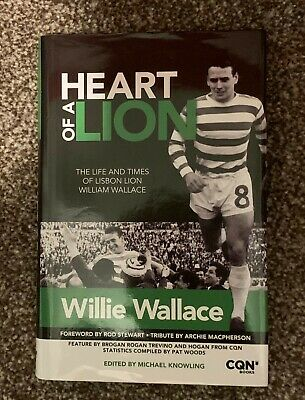 £24.99 • Buy Heart Of A Lion - Willie Wallace - Celtic Fc - Cqn Books (new) - Poss 1st Editio