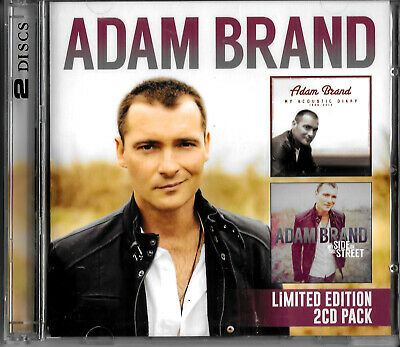 AU18.80 • Buy Adam Brand - My Acoustic Diary / My Side Of The Street MUSIC CD NEW SEALED