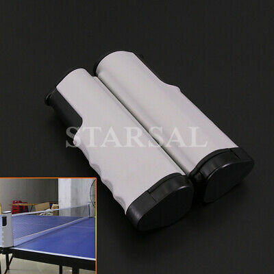 AU33.06 • Buy New Retractable Table Tennis Ping Pong Net Kit Portable Indoor Games Replacement