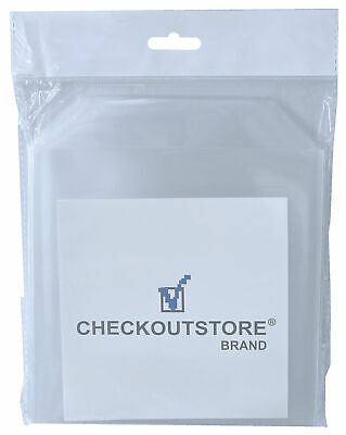 CheckOutStore Stamp & Die Clear Storage Pockets (6 3/4 X 6 3/4) • 18.06£