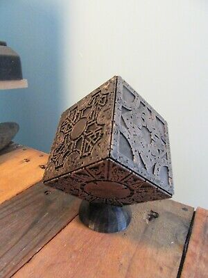 Hellraiser Puzzle Box Lemarchand Lament Configuration With Custom Stand • 39.99£