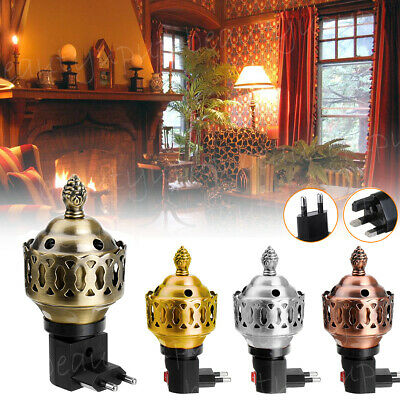 UK/EU Plug Wireless Electric Incense Burner Bakhoor Fragrance Spray Arabian Gift • 7.99£