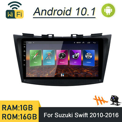 AU218.93 • Buy Android 10.1 Car DVD Player GPS Navi Wifi Radio Stereo For Suzuki Swift 2010-16