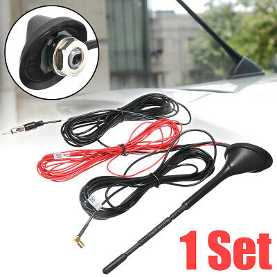 £11.89 • Buy Car Universal Roof Mount Active Amplified DAB + FM Radio Car Antenna Aerial Mast