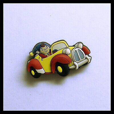 Noddy In Car Pin Badge, Rubber • 3.50£